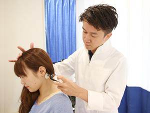 交通事故後遺症のハイボルテージ治療写真